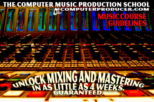 Unlock Mixing and Mastering Music Training Course Guidelines