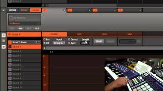 Maschine Tutorial - Recording Virus TI Snow audio through USB