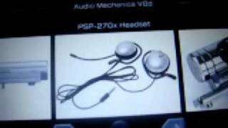 Tutorial: Audio Mechanica V8d : A Voice REcording Homebrew Compatible With Any Psp Mic, I Mean ANY!