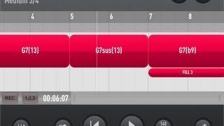 Demo of all 15 Jazz Styles Songwriting & Jam iOS App [Session Band Jazz Vol 1 ]