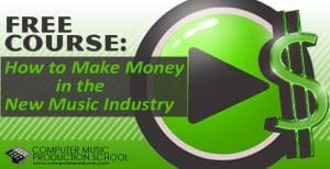making money in the new music industry