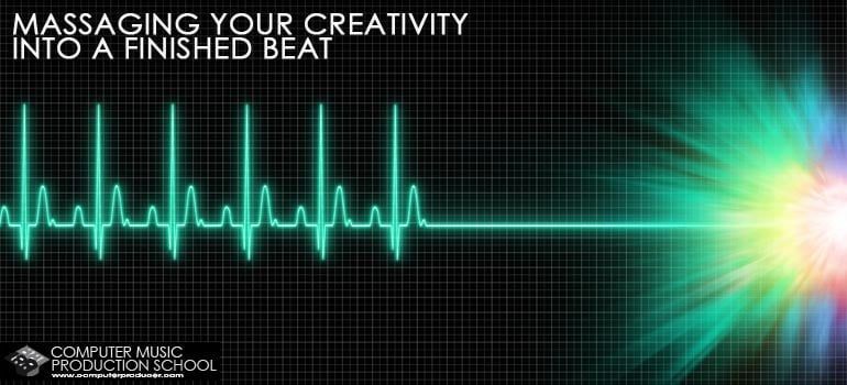 massaging creativity to finished beat