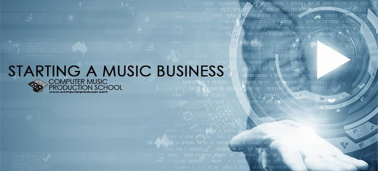 starting a music business