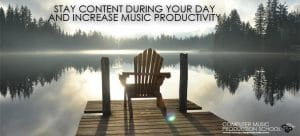 stay content during your day