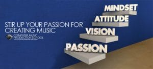 stir up passion for creating music